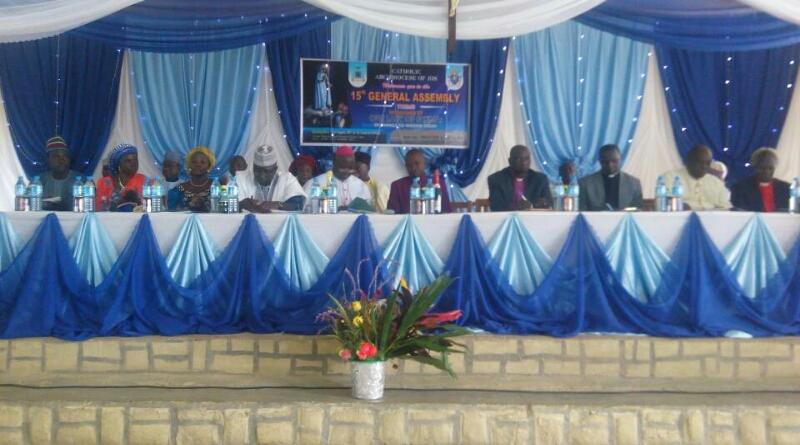 KEYNOTE ADDRESS AT THE 15TH GENERAL ASSEMBLY OF THE CATHOLIC ARCHDIOCESE OF JOS