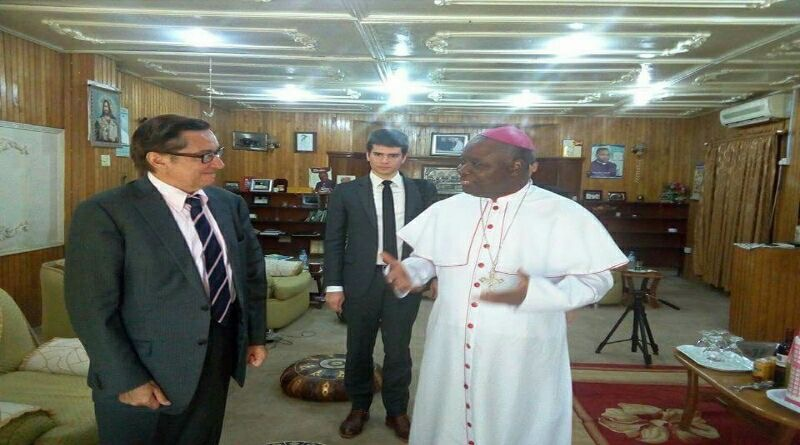 COURTESY CALL BY THE FRENCH AMBASSADOR TO NIGERIA
