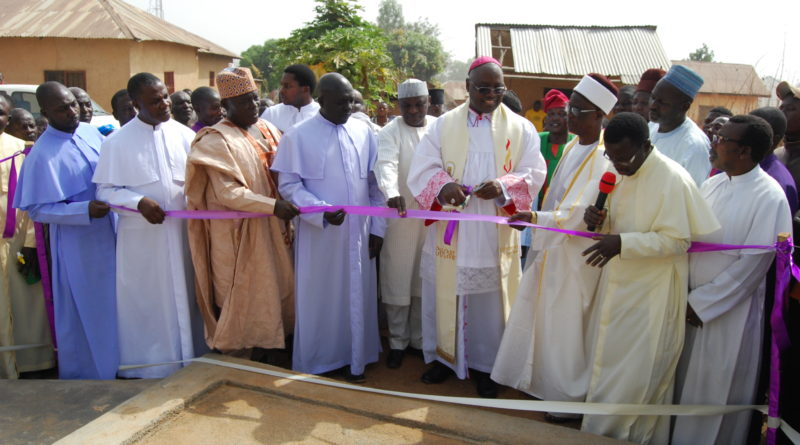 JOS ARCHDIOCESE IN COMMUNITY DEVELOPMENT FOR PEACE/UNITY