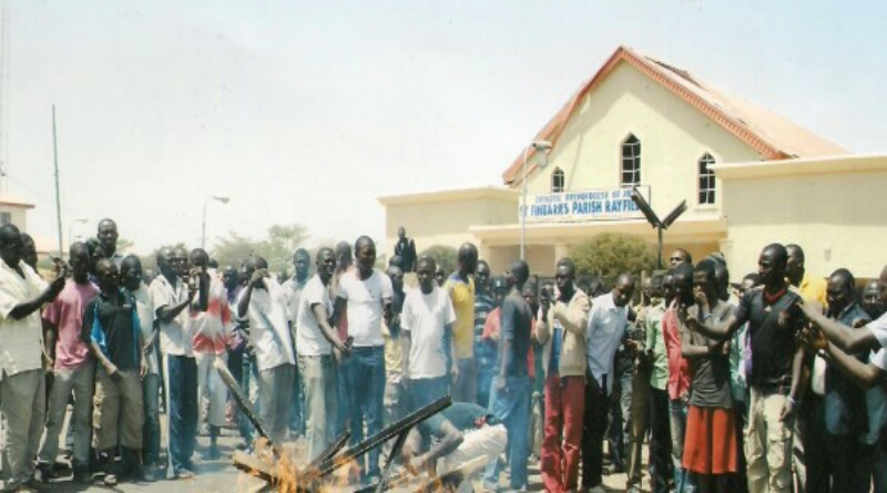 SIX YEARS MEMORIAL MASS IN HONOUR OF BOMB BLAST VICTIMS OF ST. FINBARR'S CHURCH RAYFIELD, JOS